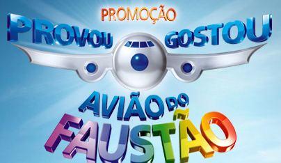 Promoção provou gostou avião do faustão