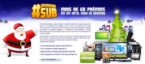 submarino natal 2010