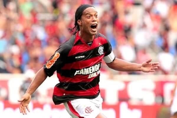 Promoção Ronaldinho no Mengão .