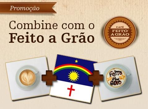 Promoção cafe feito a grão