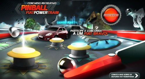 concurso pinball fiat power train