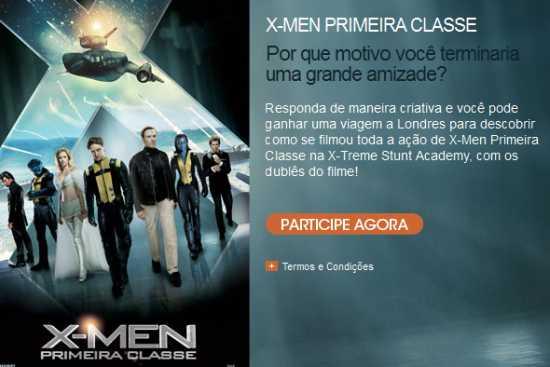 concurso x-men first class