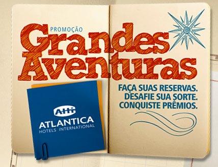 promoção grandes aventuras atlântica hotéis