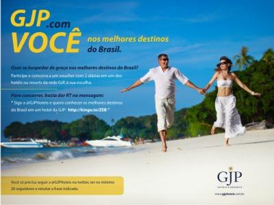 promoção GJP hoteis
