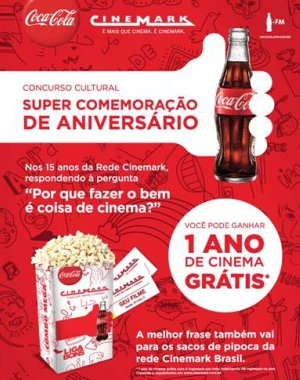 cinemark cinema gratis