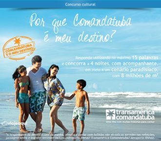 concurso viajeaqui comandatuba