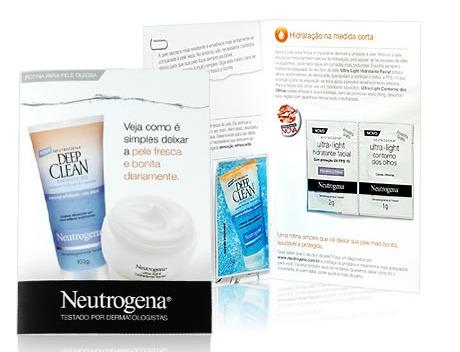 Amostra grátis Neutrogena
