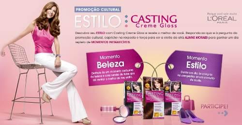 Promoção estilo casting