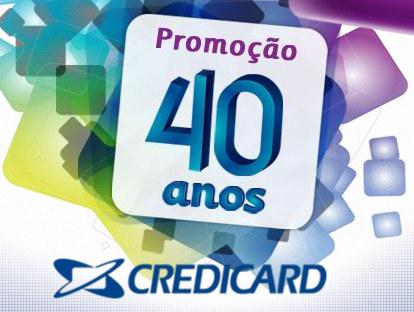 promoção 40 anos credicard