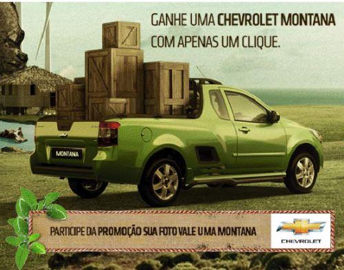 Promoção Chevrolet Montana