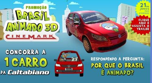 promoção brasil animado 3D