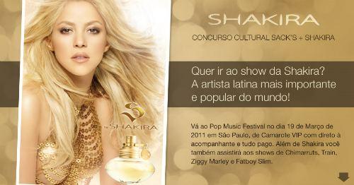 Pop Music Fashion Shakira