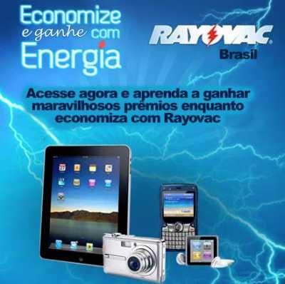 Promoção Rayovac