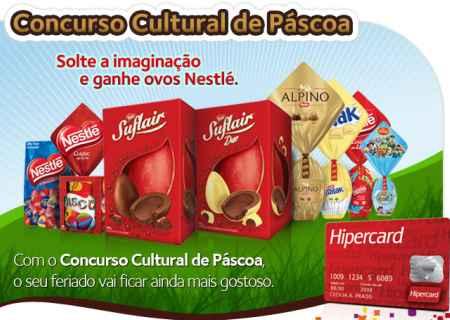 concurso pascoa hipercard 2011