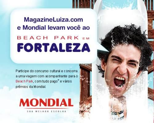 Promoção Magazine Luiza e Mondial