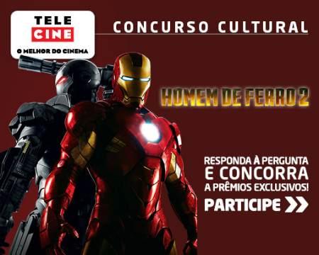 Concurso cultural homem de ferro 2