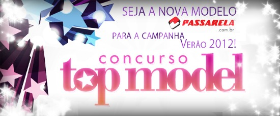 Concurso top model passarela