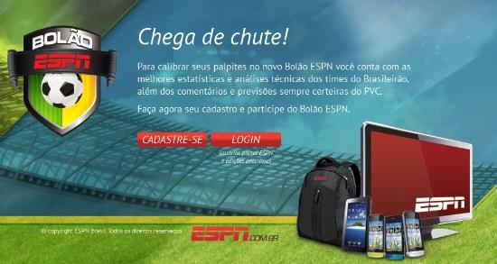 Bolão ESPN Campeonato Brasileiro 2011