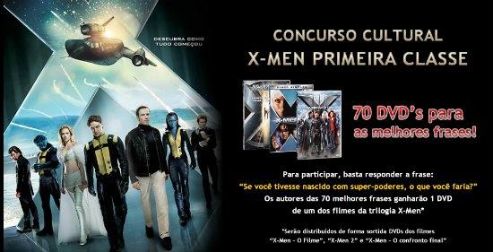 concurso cultural hipercard x-men