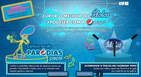 Concurso cultural de Paródias Pepsi
