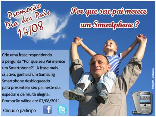 seu Pai merece smartphone