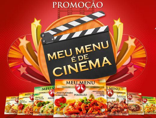 promoção meu menu é de cinema