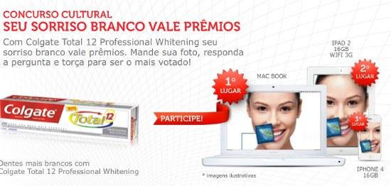 Concurso seu sorriso branco