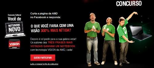 concurso AMD Improvision