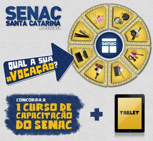 Senac-SC qual a sua vocação