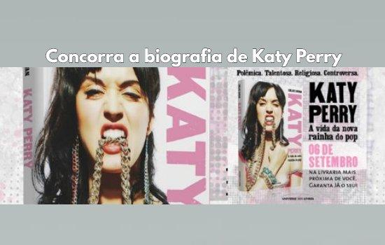 promoção biografia katy perry