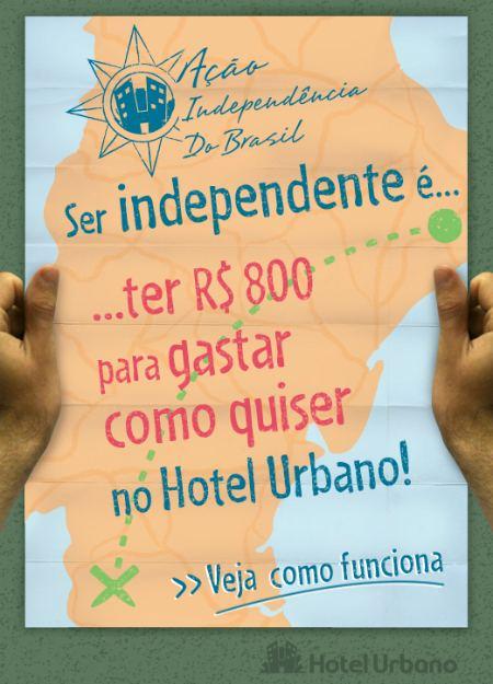 promoção hotel urbano