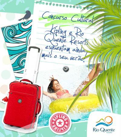 Concurso Kipling Rio Quente