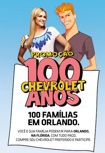 Promoção 100 anos Chevrolet