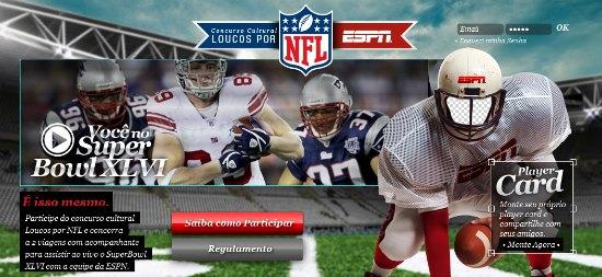 Concurso Espn loucos por NFL